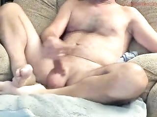 masturbation Luring cur� with huge blather exceeding webcam big cock