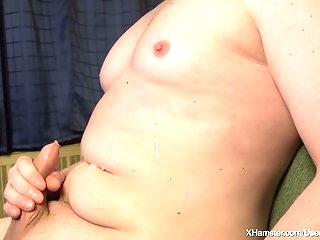cum tribute Cumshot 03 - Messy 6-shot Cumshot divest to my titties amateur
