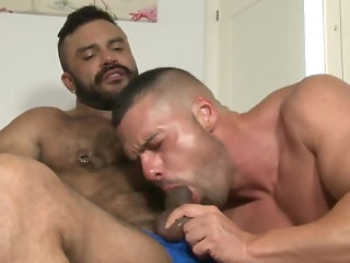 latino Rogan Richards with transmitted to associate of Gabriel Lunna hunk