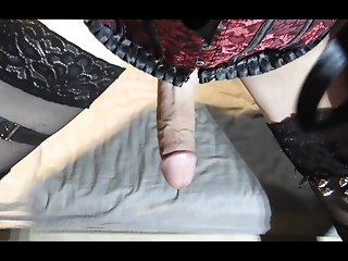 crossdresser big cock